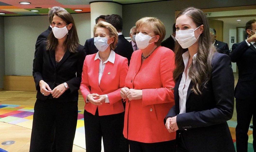 Άλλαξαν οι καιροί! Άνδρες καθαριστές & γυναίκες ηγέτες στην ΕΕ: Η Ούρσουλα, η Άνγκελα, η 34χρονη όμορφη Φινλανδή Σάνα & η Βελγίδα Σοφί (φωτό)  - Κυρίως Φωτογραφία - Gallery - Video