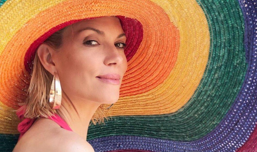 Birthday girl η Βίκυ Καγιά: Με ολόσωμο μαγιό & γόβες στην πισίνα γιορτάζει τα γενέθλιά της (βίντεο) - Κυρίως Φωτογραφία - Gallery - Video