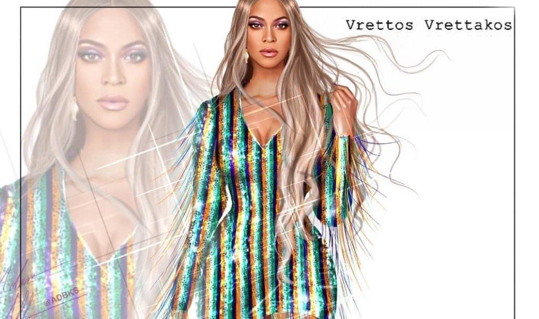 H Beyonce με φόρεμα - κορσέ του Έλληνα Vrettos Vrettakos στην παγκόσμια πρεμιέρα του νέου visual album της- Κεντημένο με 450.000 κρύσταλλα Swarovski (φωτό - βίντεο) - Κυρίως Φωτογραφία - Gallery - Video