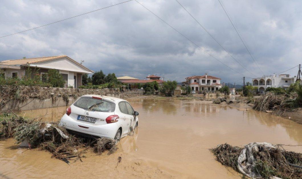 Φονική «Θάλεια»: 5 οι νεκροί από τις πλημμύρες στην Εύβοια, ανάμεσά τους & ένα βρέφος 8 μηνών -2 αγνοούμενοι (Φωτό & Βίντεο)  - Κυρίως Φωτογραφία - Gallery - Video