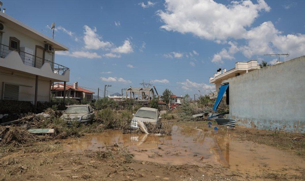 Εύβοια - Πλημμύρες: Με τη σορό που ταυτοποιήθηκε στον Κάλαμο, οι νεκροί ανέρχονται στους 8 (βίντεο) - Κυρίως Φωτογραφία - Gallery - Video