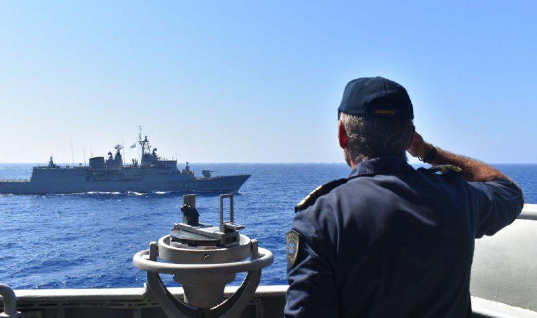 Έκτακτο - Νέα πρόκληση των Τούρκων στα ανοιχτά της Χάλκης: Παρενόχλησαν ελληνικά πλοία – Τα ηχητικά ντοκουμέντα & τα λέιζερ (Φωτό & Βίντεο)  - Κυρίως Φωτογραφία - Gallery - Video