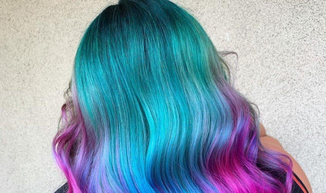 Καλοκαίρι 2020, το χρωματιστό! Δείτε μωβ, κόκκινα, ροζ, πράσινα, μπλε & κίτρινα μαλλιά – Όλα της μόδας (Φωτό)  - Κυρίως Φωτογραφία - Gallery - Video
