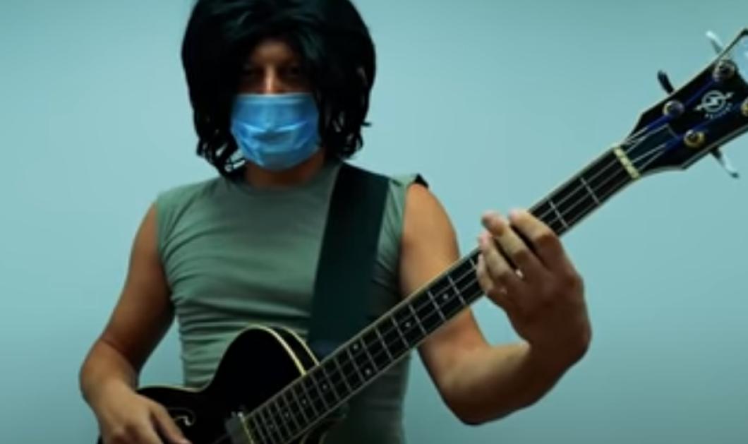 «Σώσε τη γιαγιά»: Το νέο τραγούδι για τον κορωνοϊό που έχει ξετρελάνει τους πάντες  -  «Φοράμε μάσκα - Πλένουμε χέρια - Κρατάμε αποστάσεις»... - Κυρίως Φωτογραφία - Gallery - Video