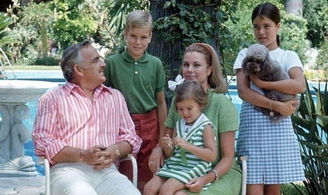 Ρετρό καλοκαίρι στο Μονακό: Η πριγκιπική οικογένεια του μίνι κράτους με την γοητευτική Grace Kelly σε ευτυχισμένες αγκαλιές με παιδιά & σύζυγο (φωτό) - Κυρίως Φωτογραφία - Gallery - Video