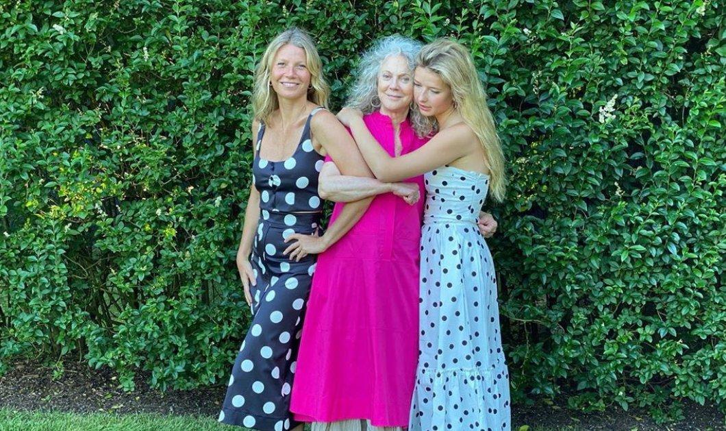 Το εξαιρετικό DNA της οικογένειας Πάλτροου – Η Γκουίνεθ μαζί με την κόρη της & τη μητέρα της (Φωτό)  - Κυρίως Φωτογραφία - Gallery - Video