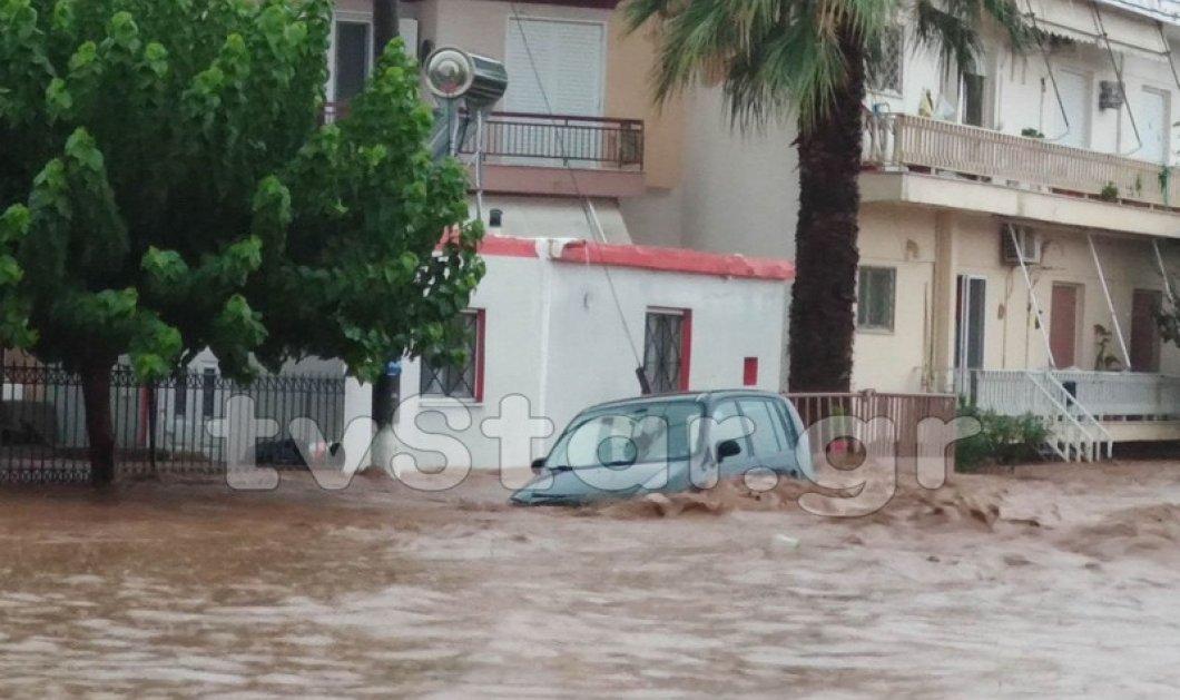 Φονική «Θάλεια»: Νεκρό 1 μωρό 8 μηνών & 2 ηλικιωμένοι στην Εύβοια – Καταστροφικές πλημμύρες – Συγκλονίζουν οι φωτό & τα βίντεο  - Κυρίως Φωτογραφία - Gallery - Video