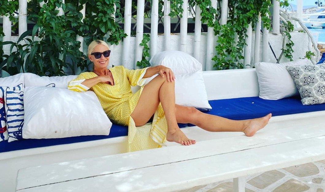 Διακοπές στη Σχοινούσα για την πολυτάλαντη Μαρία Μπακοδήμου – Ώρες ξεγνοιασιάς στις μικρές Κυκλάδες (Φωτό)  - Κυρίως Φωτογραφία - Gallery - Video