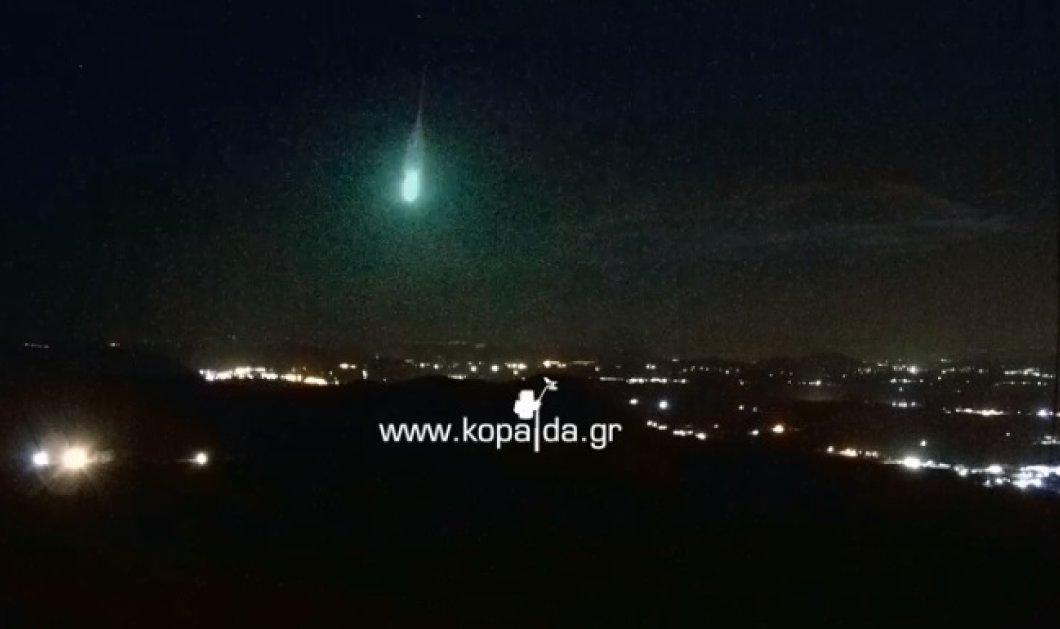 """Τι άλλο θα δούμε... """"Μετεωρίτης"""" έπεσε στη Βοιωτία! Δείτε το βίντεο με το εντυπωσιακό φαινόμενο - Κυρίως Φωτογραφία - Gallery - Video"""