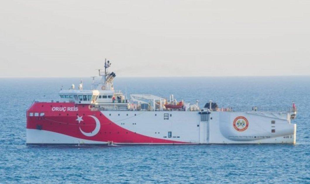 Σε πλήρη ετοιμότητα η Ελλάδα: Η Τουρκία από τα ξημερώματα με Navtex σε έρευνες του Oruc Reis κοντά στο Καστελλόριζο  - Εκτάκτως ΚΥΣΕΑ (Βίντεο)  - Κυρίως Φωτογραφία - Gallery - Video