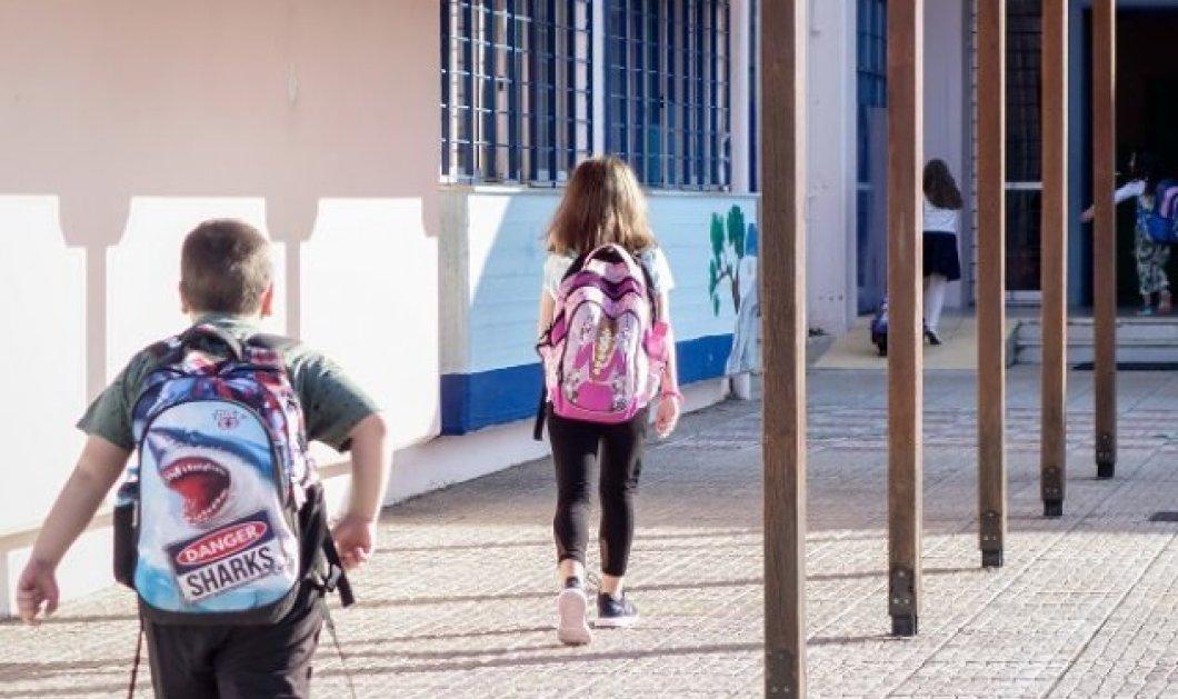 Χανιά: Πατέρας μαθητή έριξε κουτουλιά στον δάσκαλο για τη μάσκα στο σχολείο - Οδηγήθηκε στο νοσοκομείο - Κυρίως Φωτογραφία - Gallery - Video