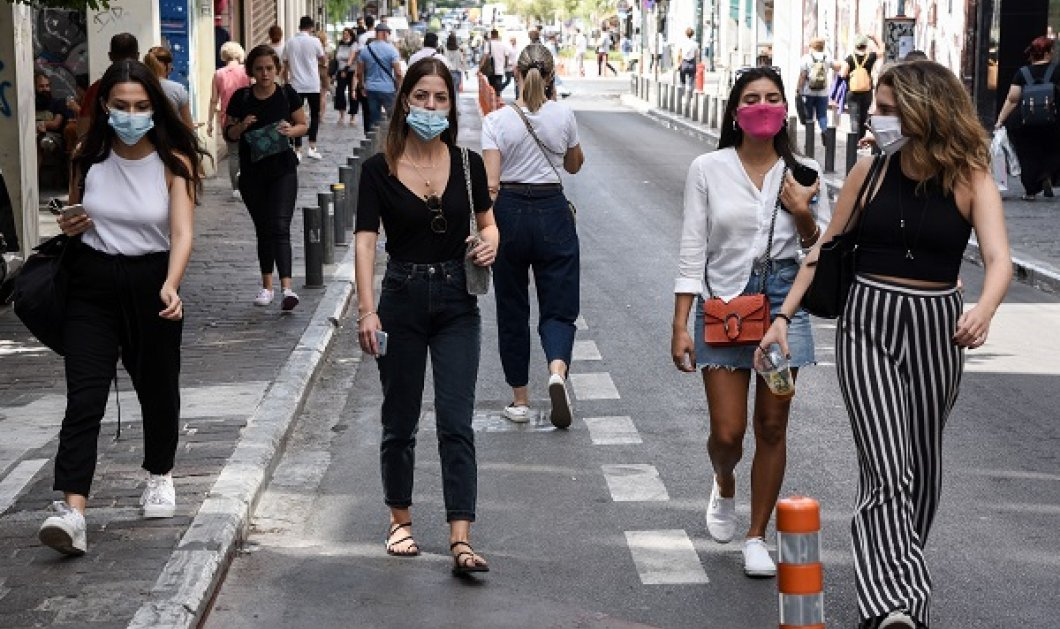 """Κορωνοϊός - Αττική: 1.037 κρούσματα σε μία εβδομάδα βάζουν σε συναγερμό την πρωτεύουσα - Ποιες γειτονιές είναι """"κόκκινες"""" - Κυρίως Φωτογραφία - Gallery - Video"""