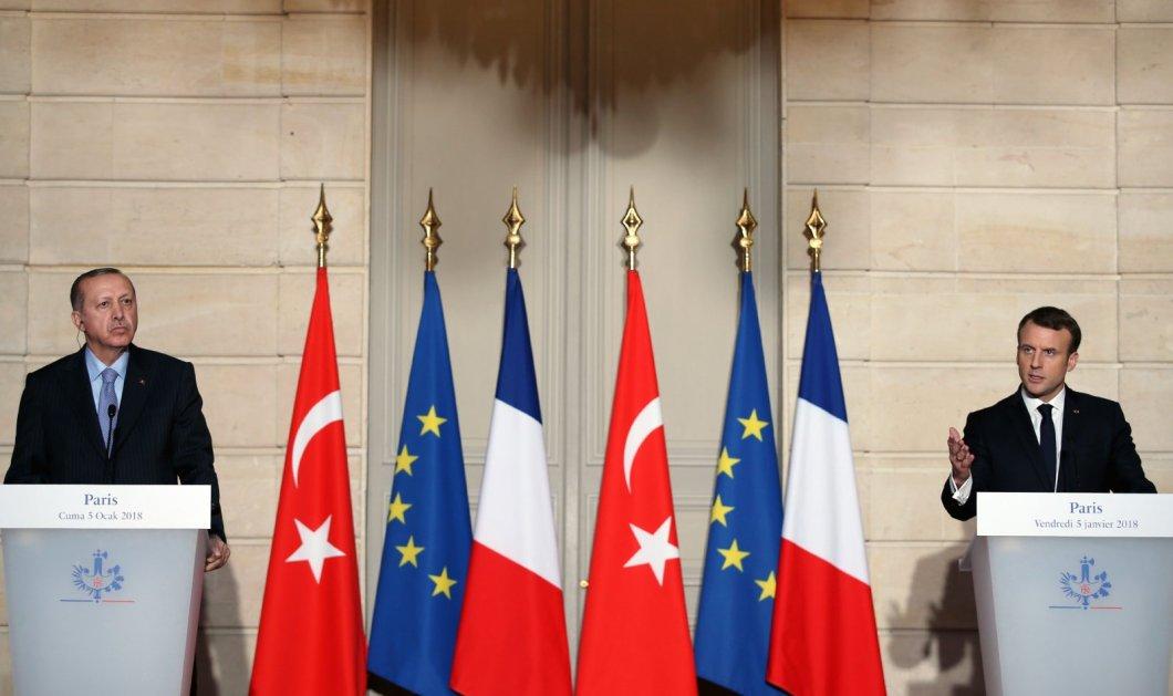 Τι είπαν στην τηλεφωνική συνομιλία τους ο Πρόεδρος της Γαλλικής δημοκρατίας, Emmanuel Macron με τον Recep Tayyip Erdogan (φωτό - βίντεο) - Κυρίως Φωτογραφία - Gallery - Video