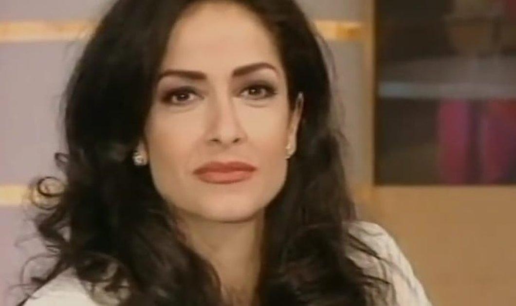 1995: H Άννα Βίσση παρουσιάστρια με πρώτο καλεσμένο στην εκπομπή της τον Στέφανο Κορκολή - Backstage με Καρβέλα (φωτό) - Κυρίως Φωτογραφία - Gallery - Video
