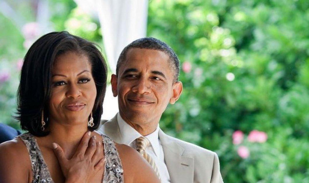 Μισέλ Ομπάμα: Ήρθαν στιγμές που θα πετούσα ευχαρίστως τον Μπαράκ από το παράθυρο - Συμβουλές γάμου (Φωτό & Βίντεο)  - Κυρίως Φωτογραφία - Gallery - Video