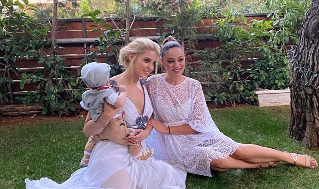 Βάπτισε τον γιο της η Μαντώ Γαστεράτου - To λευκό αρχαιοελληνικό φόρεμα & οι χαριτωμένες αλεπουδίτσες στο decor (φωτό) - Κυρίως Φωτογραφία - Gallery - Video