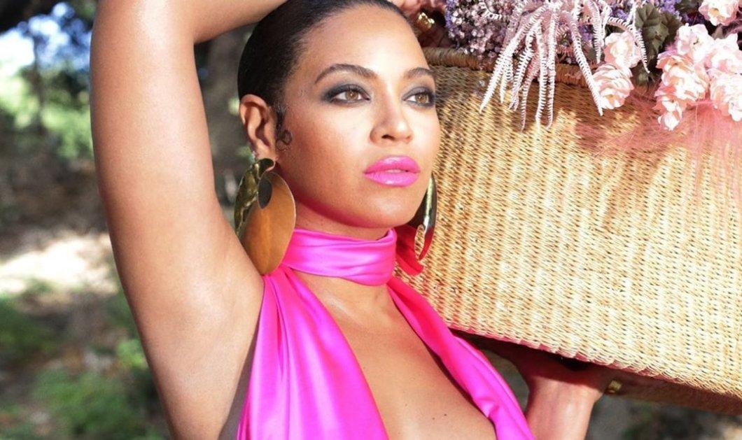 Η Beyonce με μαύρο μίνι ταγιέρ Chanel, φούξια γόβες & τεράστια κοσμήματα (φωτό) - Κυρίως Φωτογραφία - Gallery - Video