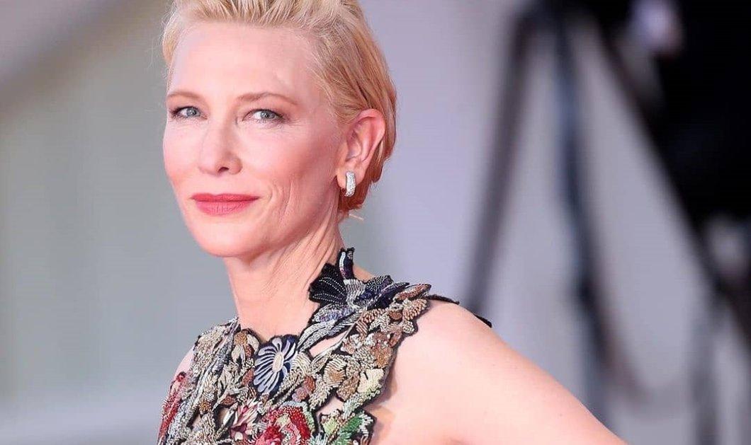 Cate Blanchett: Η επιτομή της κομψότητας με αλλεπάλληλες εμφανίσεις πρωινές & βραδινές - Η κυρία Πρόεδρος έσκισε (φωτό) - Κυρίως Φωτογραφία - Gallery - Video