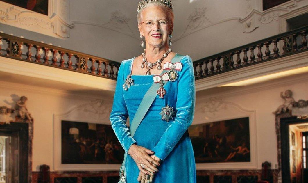 Το νέο επίσημο πορτραίτο της βασίλισσας της Δανίας Μαργκρέτ- Η τιάρα «γούρι» της 80χρονης αδελφής της Άννας Μαρίας (φωτό) - Κυρίως Φωτογραφία - Gallery - Video