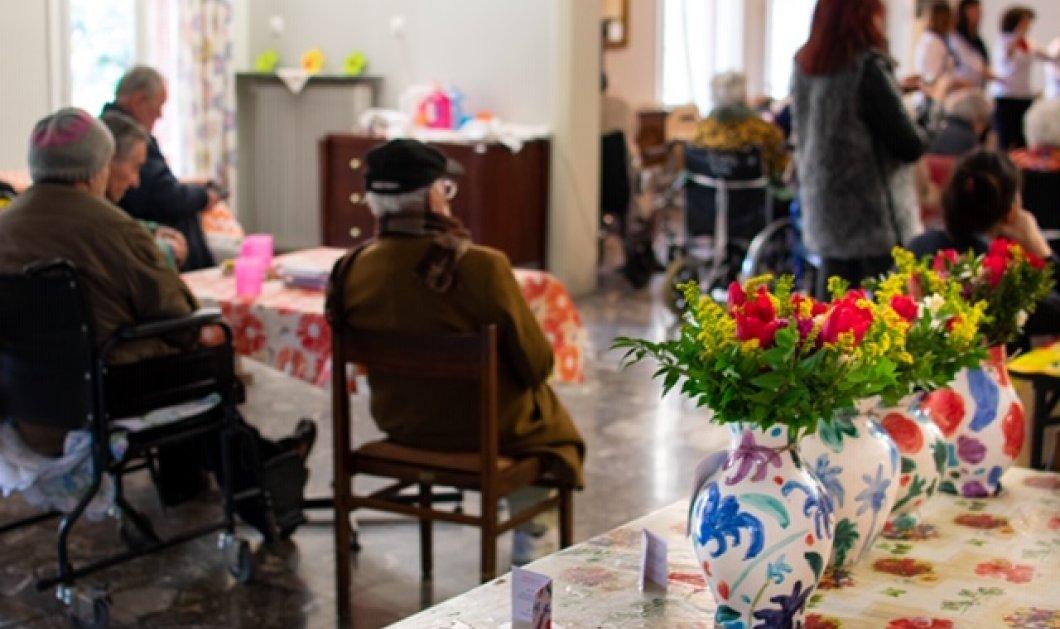 Ο όμιλος ΟΤΕ στηρίζει το έργο της Flower Power - Υπέροχα λουλούδια κοσμούν τις εγκαταστάσεις του Γηροκομείου Αθηνών  - Κυρίως Φωτογραφία - Gallery - Video