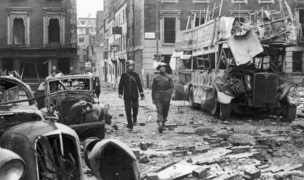 Συγκλονιστική φωτό ντοκουμέντο από τον βομβαρδισμό του Λονδίνου  πριν από 80 χρόνια  - Οι Ναζί Γερμανοί κατέστρεψαν το Big Ben  - Κυρίως Φωτογραφία - Gallery - Video