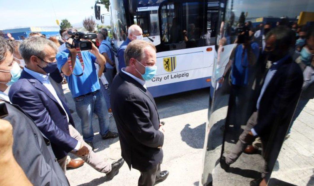 Good News: Καρέ – καρέ η παράδοση 18 λεωφορείων στην Θεσσαλονίκη – Το μετρό πήρε μπροστά - Κυρίως Φωτογραφία - Gallery - Video