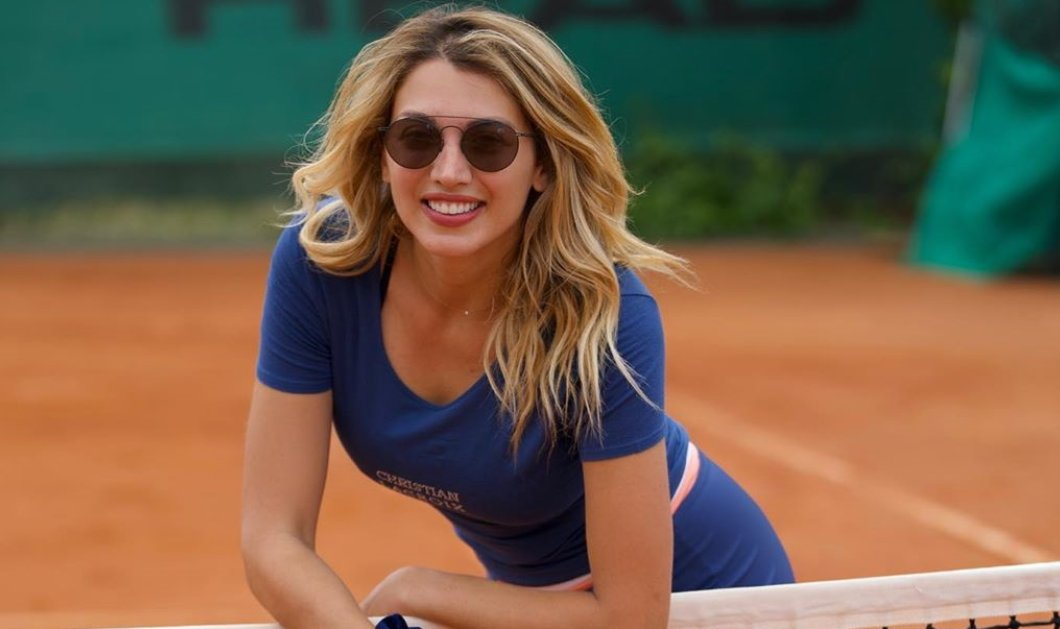 Η Κωνσταντίνα Σπυροπούλου σε πόζα Playboy - της γράφουν: κολάζεις & καλόγριες! (Φωτό) - Κυρίως Φωτογραφία - Gallery - Video