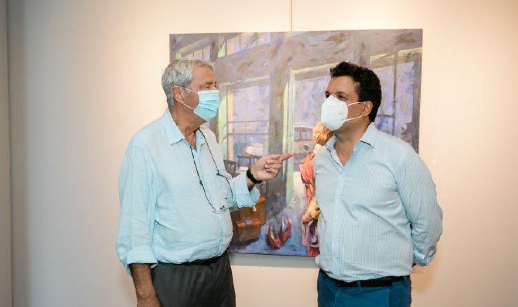 Παύλος Σάμιος: Εγκαίνια έκθεσης «Καφέ Παράδεισος» στην Γκαλερί Σκουφά στο Κολωνάκι - Κυρίως Φωτογραφία - Gallery - Video