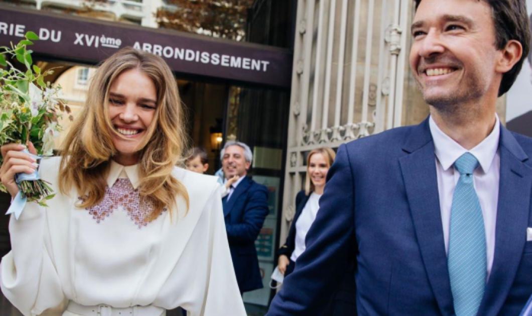 Βροχή από ροδοπέταλα για τον δεύτερο γάμο του top model Ναταλία Βοντιάνοβα με τον δισεκατομμυριούχο Αντουάν Αρνό – Είναι κληρονόμος της LV - Κυρίως Φωτογραφία - Gallery - Video