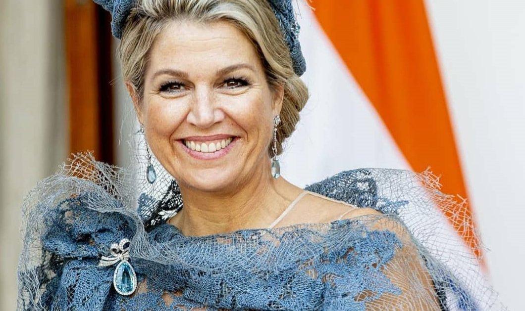 Βασίλισσα Μάξιμα: Χαμογελαστή, με κομψό εμπριμέ φόρεμα & τεράστια σκουλαρίκια γιόρτασε την Εθνική Ημέρα Μουσικής (φωτό) - Κυρίως Φωτογραφία - Gallery - Video