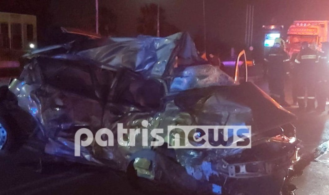 Τραγωδία στην άσφαλτο με νεκρό 26χρονο οδηγό - Έπεσε σε νταλίκα προσπερνώντας με υπερβολική ταχύτητα άλλα αυτοκίνητα στην Ηλεία (Φωτό) - Κυρίως Φωτογραφία - Gallery - Video