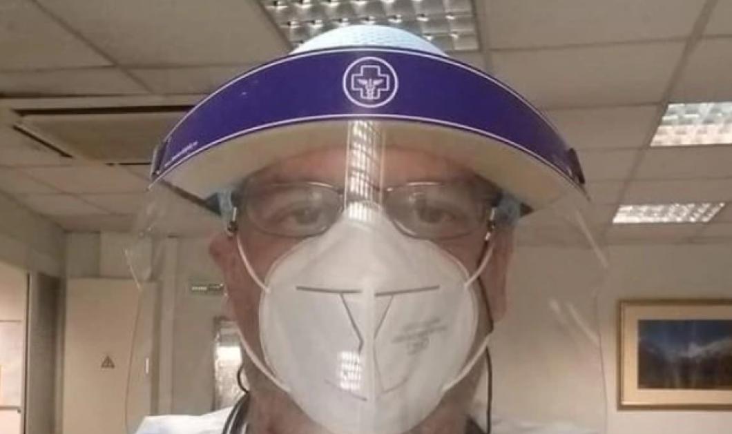 Κορωνοϊός – γιατρός Νίκος Ραζής: Προσκαλώ τους αρνητές της μάσκας να έρθουν μαζί μου για 9 ώρες στην εφημερία, δίπλα μου όμως χωρίς μάσκα - Κυρίως Φωτογραφία - Gallery - Video