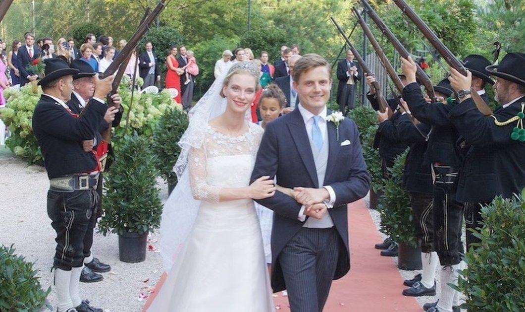 Μυθικός γάμος για την Δούκισσα Gabriella & τον Πρίγκιπα Henri Bourbon - Parma στην Αυστρία - Το υπέροχο νυφικό & η τιάρα της Δούκισσας Αδελαΐδας (φωτό) - Κυρίως Φωτογραφία - Gallery - Video