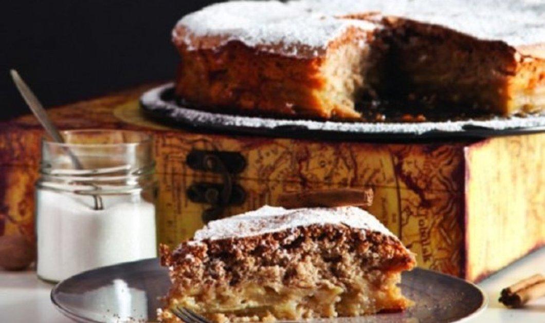 Και το ωραίο γλυκό της Παρασκευής: Sharlotka - Ρωσική μηλόπιτα από τον Στέλιο Παρλιάρο - Κυρίως Φωτογραφία - Gallery - Video