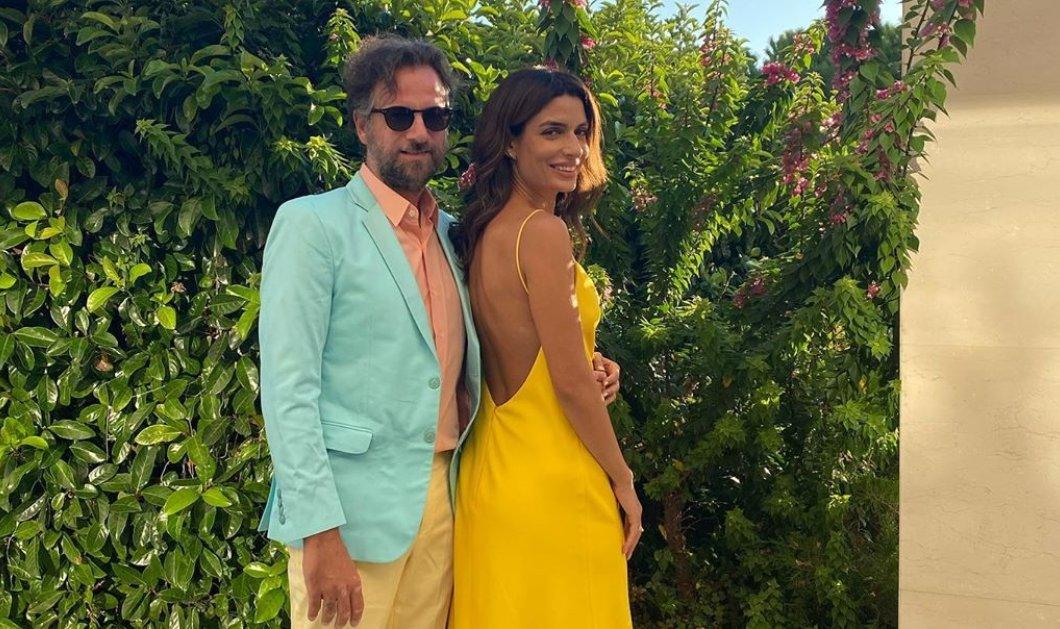 Το αγαπημένο ζευγάρι Τόνια Σωτηροπούλου & Κωστής Μαραβέγιας «κάνουν πρόβα γάμου»… - Κίτρινο maxi φόρεμα & κοστούμι παστέλ για τον τραγουδιστή (Φωτό)  - Κυρίως Φωτογραφία - Gallery - Video