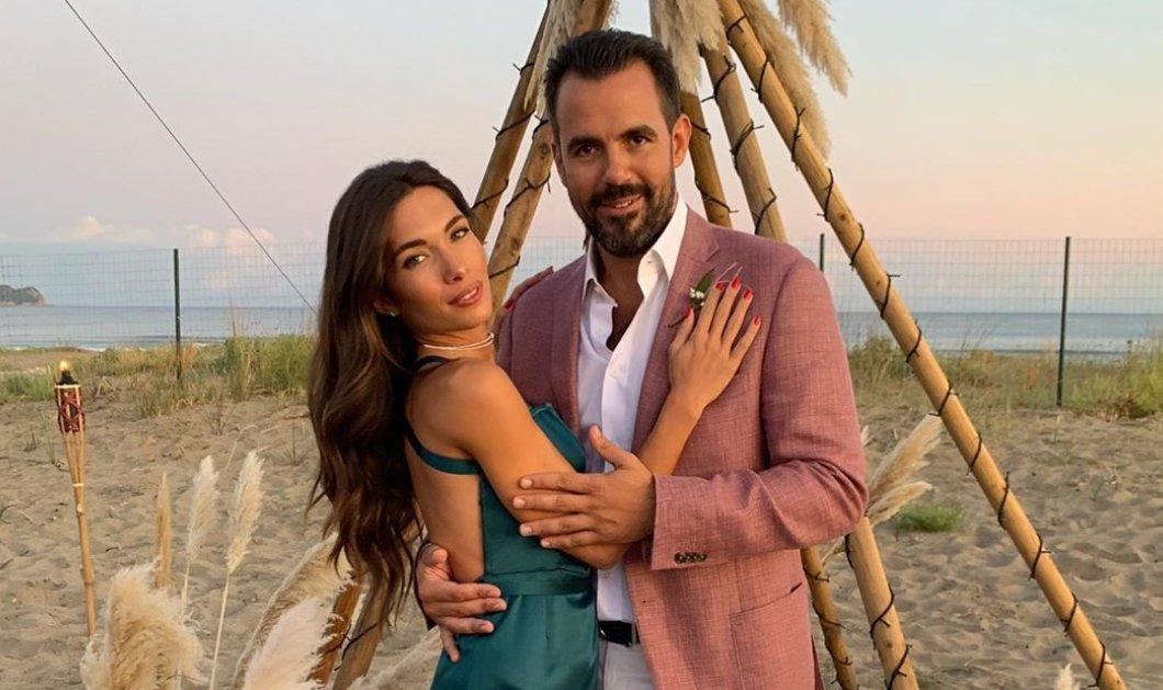 Δύο γάμοι σε κλειστό κύκλο & glam: H σχεδιάστρια μόδας Ζήνα Γλου με τον Νικόλα Μπέη - Στις Σπέτσες η τελετή για τον Δημήτρη Μελά (Φωτό & Βίντεο)  - Κυρίως Φωτογραφία - Gallery - Video