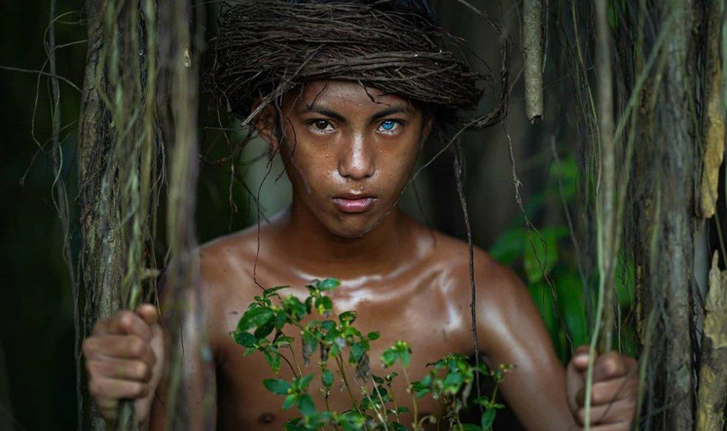 Οι άνθρωποι με τα μπλε electric μάτια  - Οι Ινδονήσιοι με τα πιο περίεργα φωσφοριζέ μάτια στον κόσμο - Κυρίως Φωτογραφία - Gallery - Video