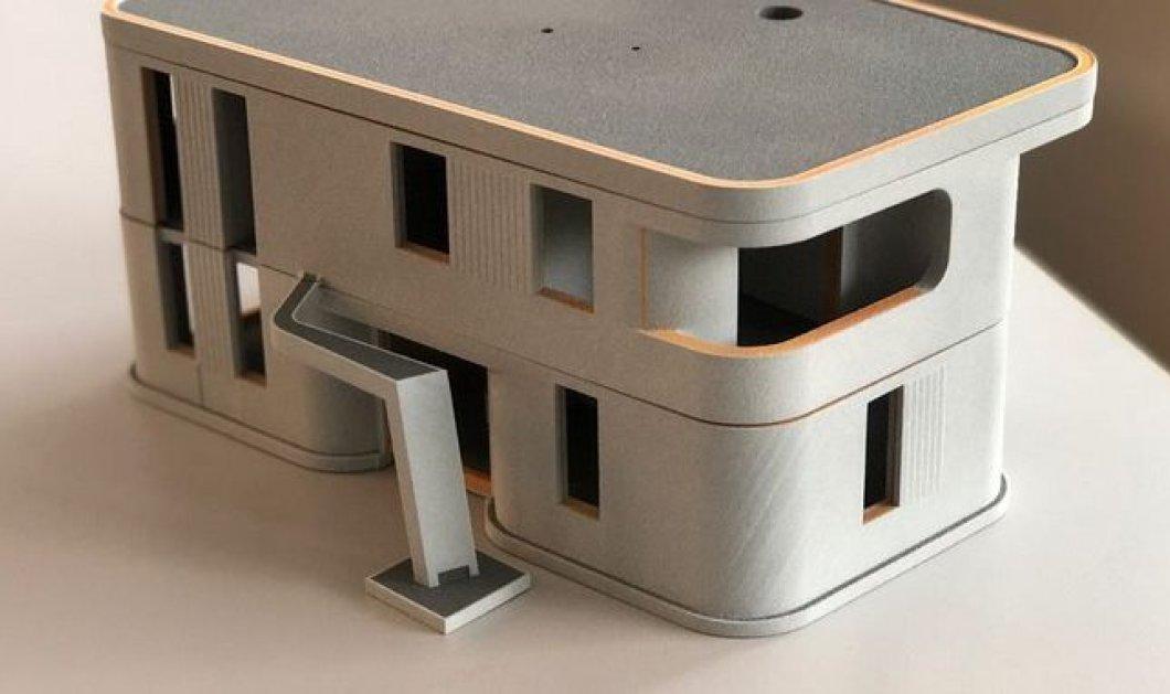Γιώργος Στάικος: Ο Έλληνας που «εκτυπώνει» το πρώτο 3D διώροφο κατοικήσιμο σπίτι της Ευρώπης - Κυρίως Φωτογραφία - Gallery - Video