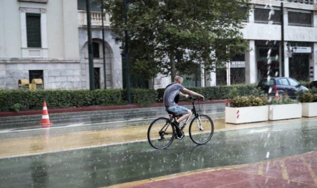 Καιρός: Κακοκαιρία με έντονα φαινόμενα - Βροχές, καταιγίδες & χαλαζόπτωση  - Κυρίως Φωτογραφία - Gallery - Video