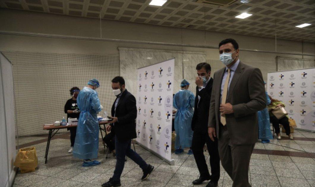 Κορωνοϊός: Rapid test στον σταθμό του μετρό στο Σύνταγμα - Πόσα κρούσματα νομίζετε πως βρέθηκαν & φορούσαν μάσκα (Φωτό & Βίντεο)   - Κυρίως Φωτογραφία - Gallery - Video