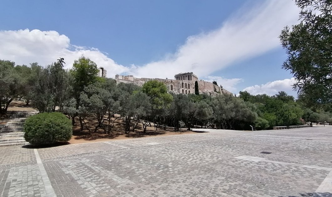 Διονυσίου Αρεοπαγίτου: Ο ωραίος περίπατος της Αθήνας - Κυρίως Φωτογραφία - Gallery - Video