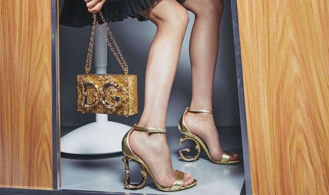 Τα νέα παπούτσια & τσαντάκια των Dolce & Gabbana είναι μοναδικά: Baroque τακούνια, κομψά μποτίνια & θηλυκές μπότες - Υπέροχα clutch με ιδιαίτερες λεπτομέρειες (φωτό) - Κυρίως Φωτογραφία - Gallery - Video