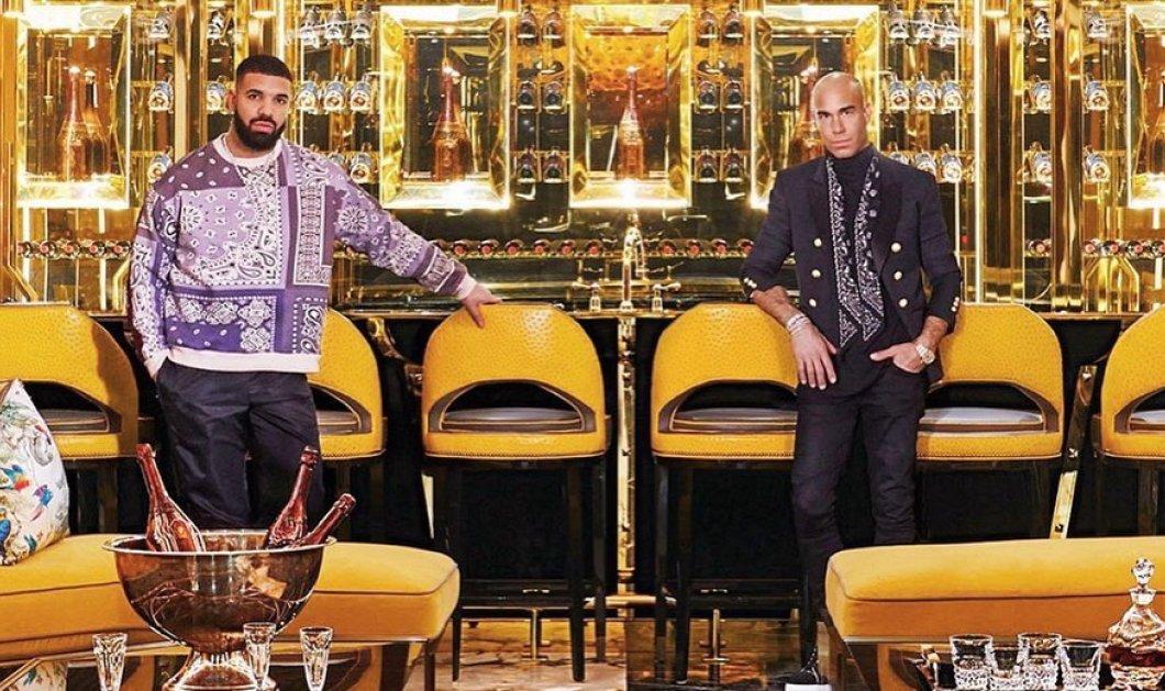 """Το υπερχλιδάτο """"παλάτι"""" του Drake - """"Βασιλικά"""" κρεβάτια, μπανιέρα από μαύρο μάρμαρο & γήπεδο μπάσκετ διαστάσεων NBA (Φωτό & Βίντεο) - Κυρίως Φωτογραφία - Gallery - Video"""