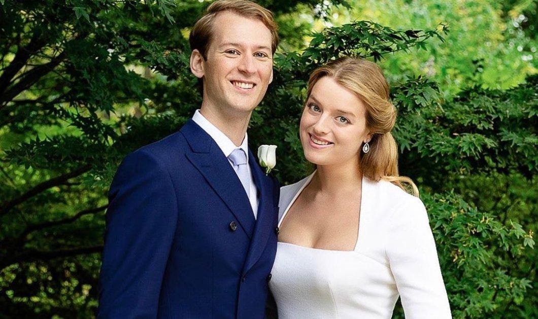 Νέος γάμος στο Μπάκιγχαμ: Η πριγκίπισσα Αλεξάνδρα του Kent πάντρεψε την κούκλα εγγονή της με τον Σουηδό παίκτη του χόκεϊ Timothy Vesterberg (φωτό) - Κυρίως Φωτογραφία - Gallery - Video