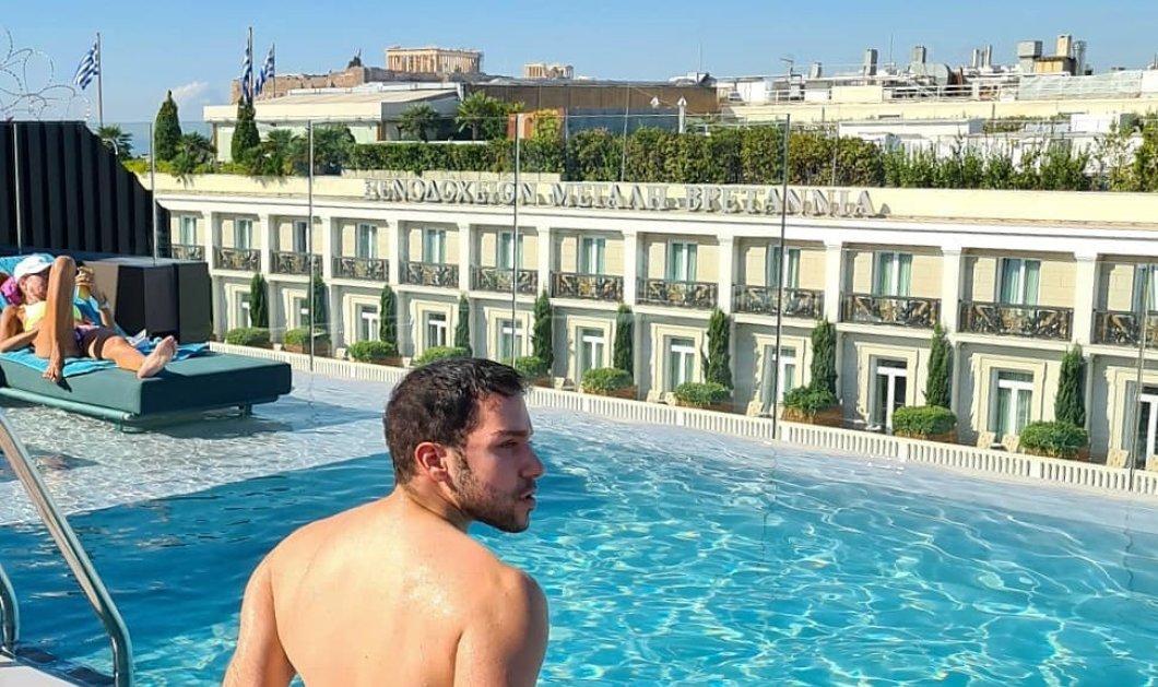 Η συναρπαστική θέα από την πισίνα του νέου ξενοδοχείου της Αθήνας, Athens Capital Hotel - Οι πρώτες φωτό & από τα δωμάτια - Κυρίως Φωτογραφία - Gallery - Video