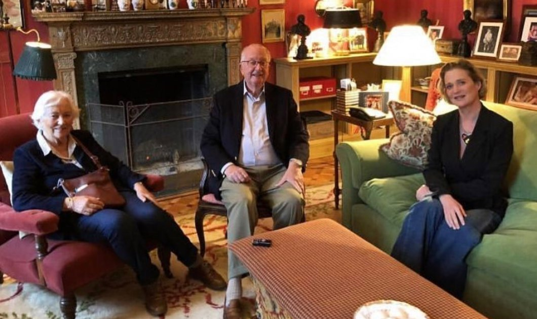 Τελικά ο πρώην Βασιλιάς του Βελγίου συνάντησε την κόρη του & νέα πριγκίπισσα Ντελφίν - Παρούσα και η Βασίλισσα Πάολα (φωτό)  - Κυρίως Φωτογραφία - Gallery - Video