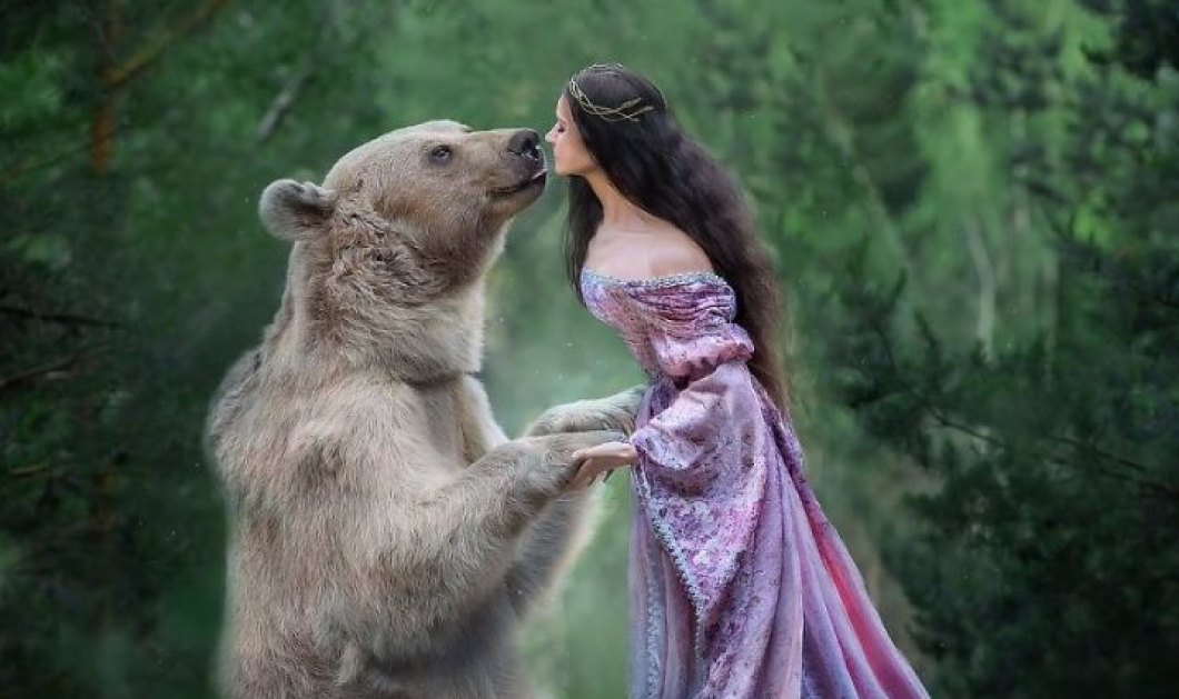Story of the day: Αρκούδα εγκαταλείφθηκε όταν ήταν μωρό – Την μεγάλωσαν άνθρωποι και τώρα έγινε… μοντέλο! (φωτό) - Κυρίως Φωτογραφία - Gallery - Video