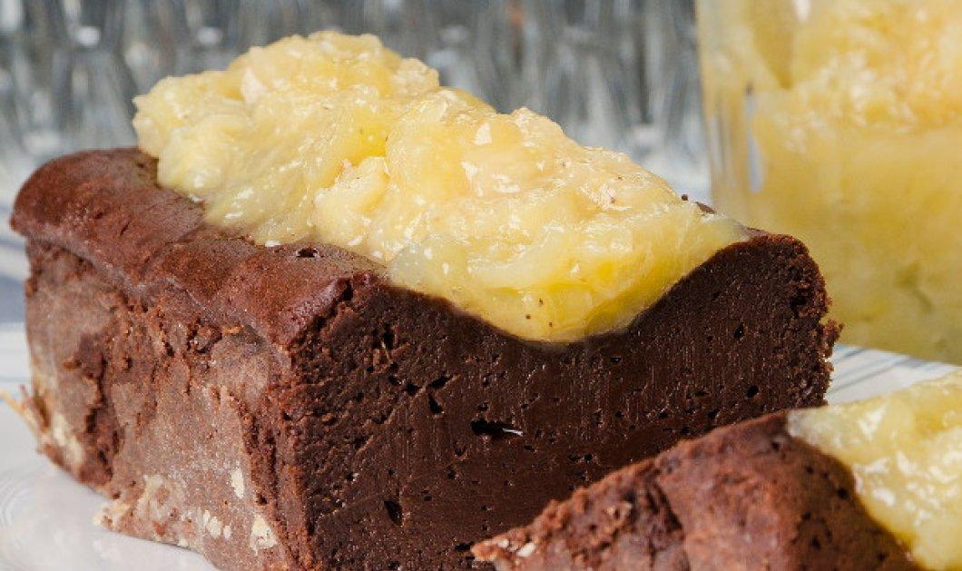 Ο Στέλιος Παρλιάρος μάς φτιάχνει ένα λαχταριστό κέικ με μαρμελάδα μπανάνα  - Κυρίως Φωτογραφία - Gallery - Video