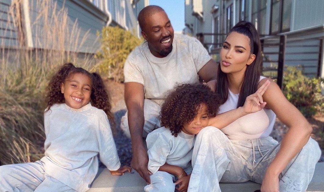 «Κρατάμε γερά»: Η Kim Kardashian αγκαλιά με τον αμφιλεγόμενο Kanye West & τα δύο μεγάλα παιδιά τους (Φωτό)  - Κυρίως Φωτογραφία - Gallery - Video