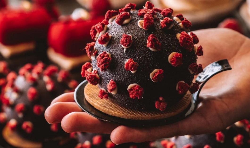 Πράγα: Αυτό είναι το γλυκό του…  κορωνοϊού που έγινε viral – To σοκολατένιο «virus cake», είναι σκέτος πειρασμός (φωτό & βίντεο) - Κυρίως Φωτογραφία - Gallery - Video